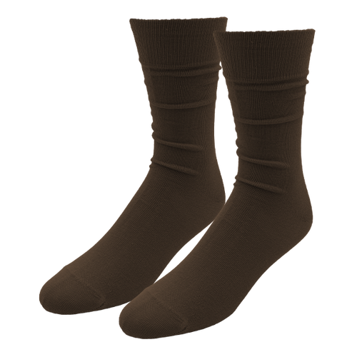 Braune Herrensocken - E.L. Cravatte (1)
